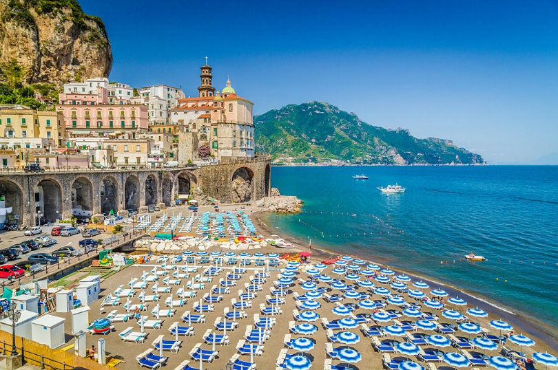 Places and attractions in the picturesque coastal village of Atrani
